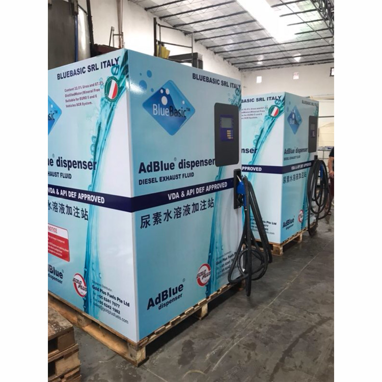 Good quality skid-mounted shell AdBlue dispenser