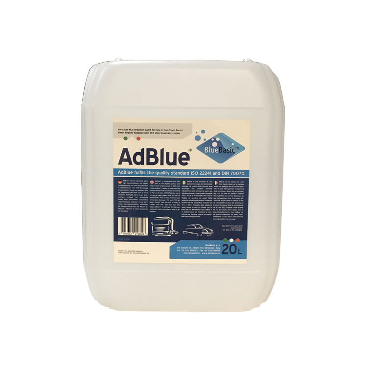 High standard AdBlue DEF solution for SCR system 20 Liter