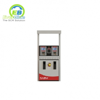 Highly praise AdBlue® fuel dispenser for filling with double nozzle