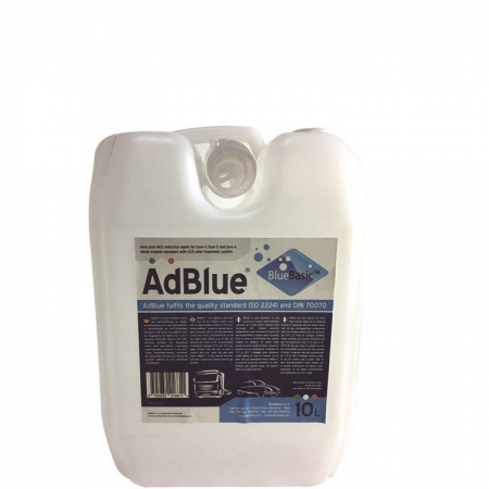 VDA AdBlue® Liquid DEF For Euro IV and Euro V SCR System 10L Package