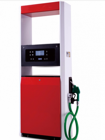 Hot Sale Electric Fuel Dispenser Fueling System Petrol Pump Single Nozzle Double Display