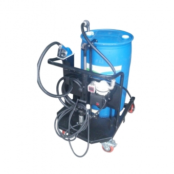Trolley equipment for filling 200 Liter drum AdBlue®
