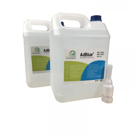 AdBlue® scr urea solution to reduce emission