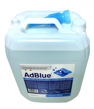 New Packing of 20L AdBlue® Urea Solution with Inspiration Hole for Faster Filling