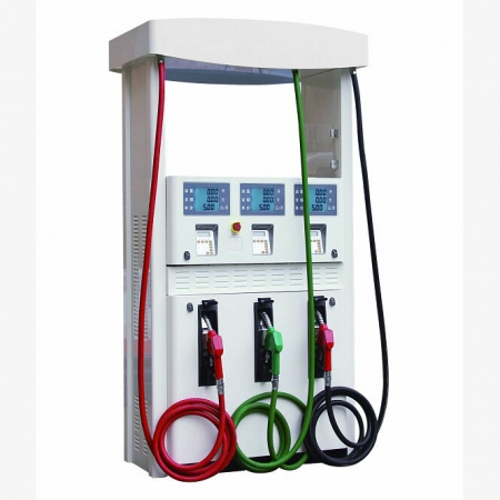 Gilbarco Three Nozzles Six Displays Fuel Dispenser Pump Acceptable Customization