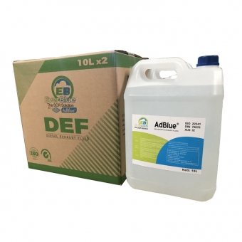 various packages AdBlue® urea solution