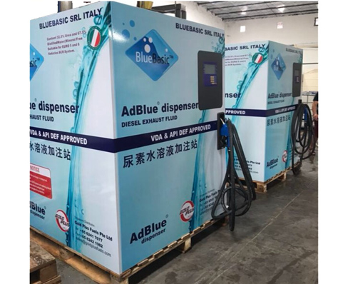 Skid-mounted AdBlue® Dispenser